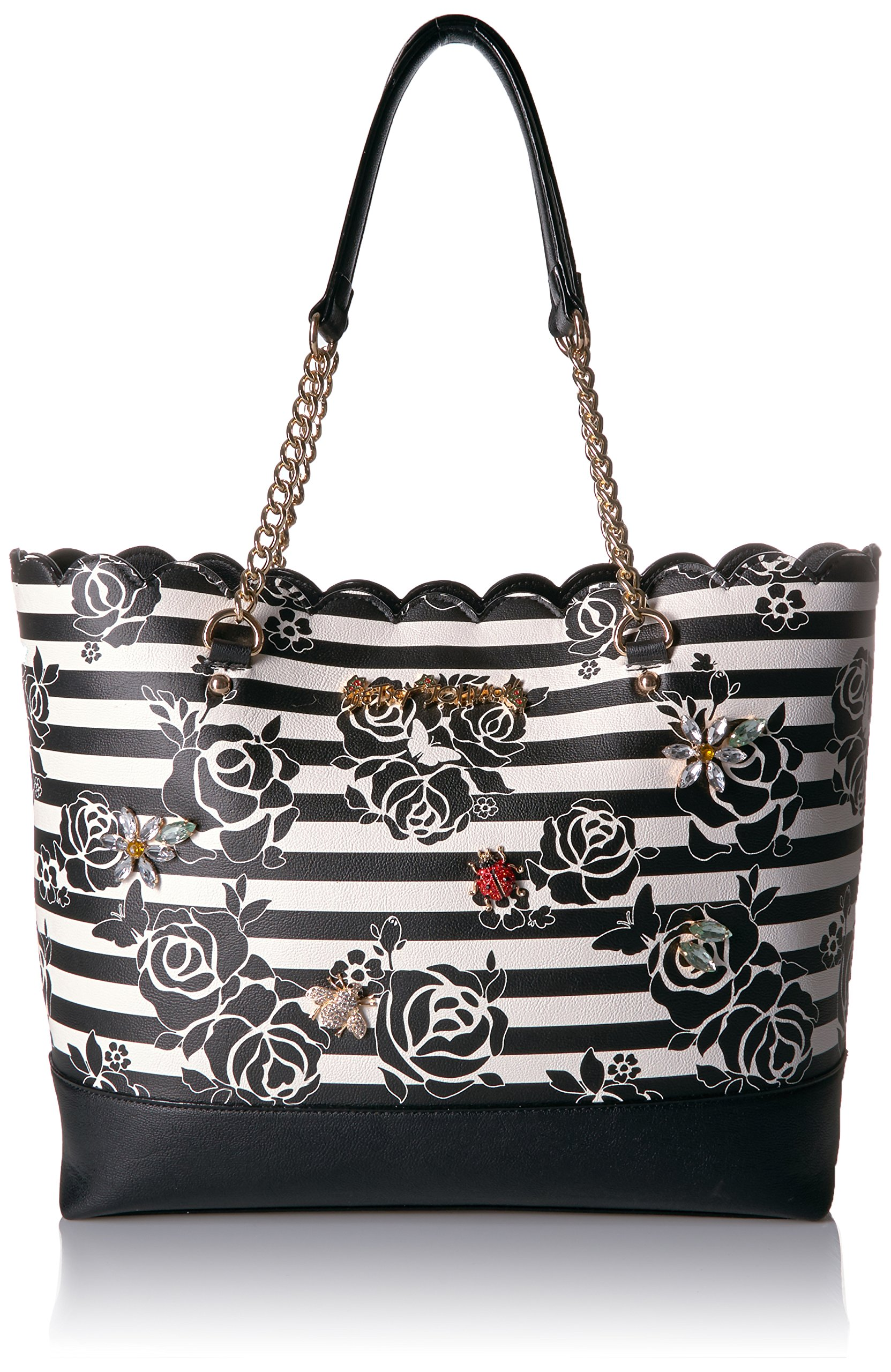 Betsey Johnson Glam Garden Tote, Multi