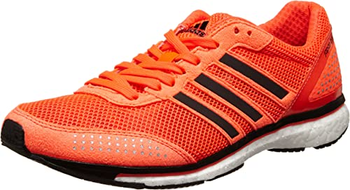 dolor de muelas Distribuir Pobreza extrema  Amazon.com | adidas Adizero Adios Boost 2 Running Shoes - 13 - Orange |  Running