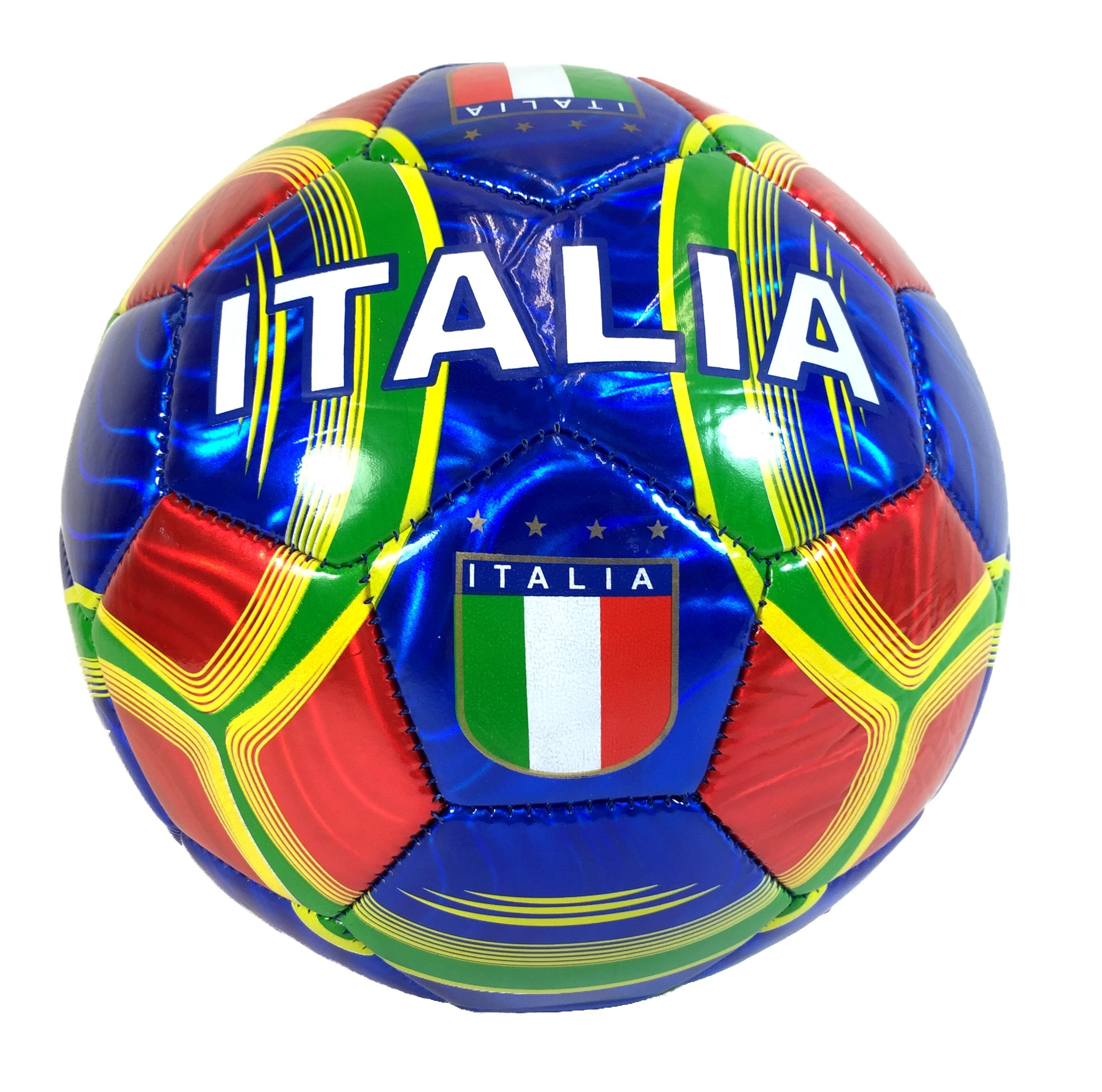 Italy Soccer Ball Summer High Quality Outdoor Sport Soccer Fan 2014 World Cup Italy Italia Ball Size 5!