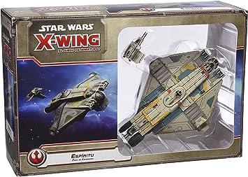 Fantasy Flight Games Star Wars: X-Wing - Pack Espíritu, Juego de Mesa (Edge Entertainment EDGSWX39): Amazon.es: Juguetes y juegos