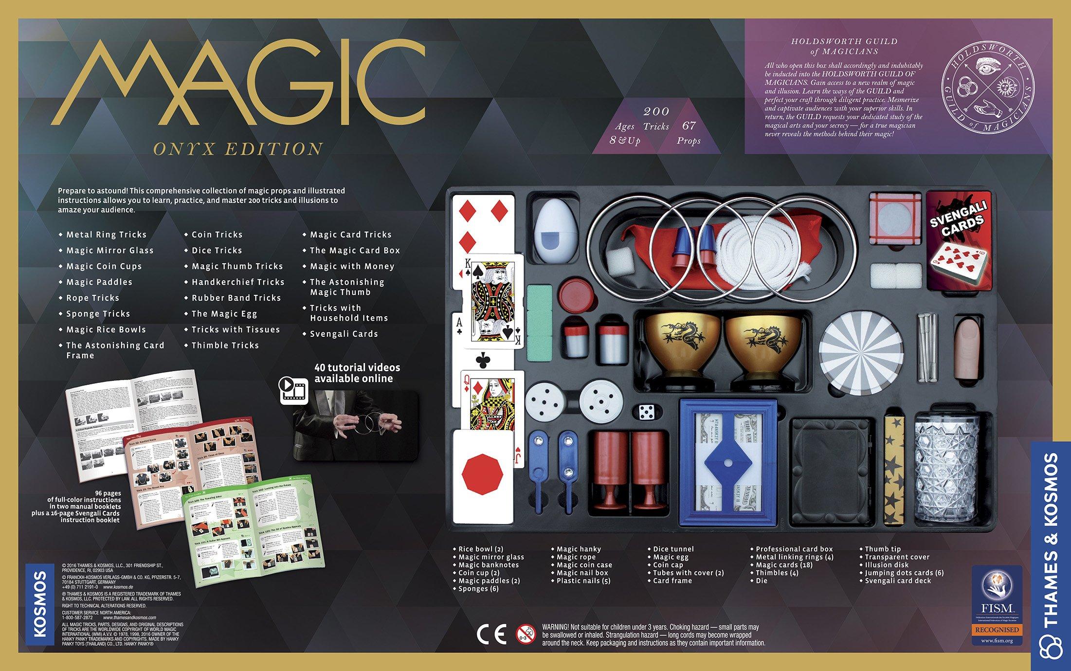 Thames & Kosmos Magic: Onyx Edition Playset with 200 Tricks by Thames & Kosmos (Image #2)