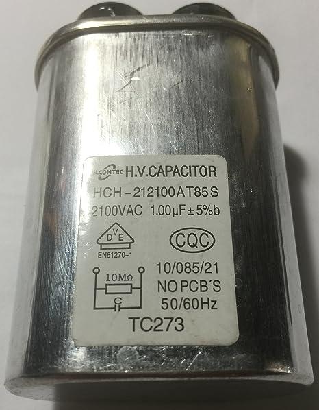 Condensador de microondas reparación parte para GE, LG, Amana ...