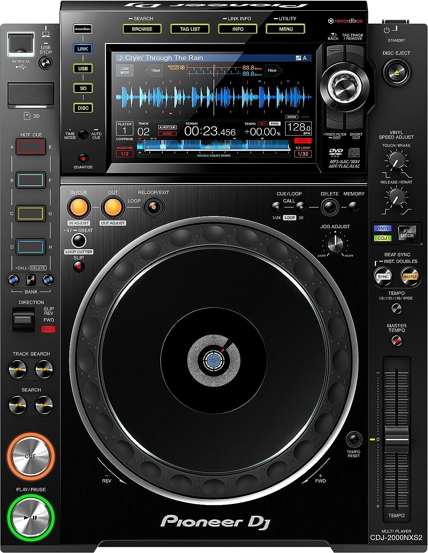 Amazon.com: Pioneer Dj cdj-2000NXS2 profesional multijugador: Musical Instruments