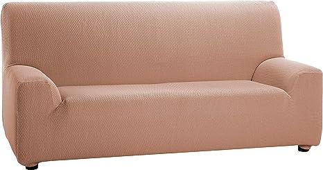 Martina Home Tunez Elastic Sofa Cover 3 places 3 Plazas (180 240 cm) Salmon