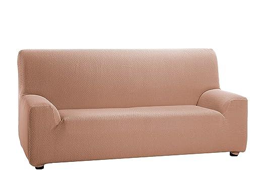 Martina Home Tunez - Funda elástica para sofá, Salmón, 2 Plazas (120-190 cm)