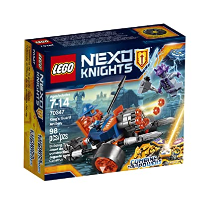 LEGO Nexo Knights King's Guard Artillery 70347 Building Kit (98 Piece): Toys & Games