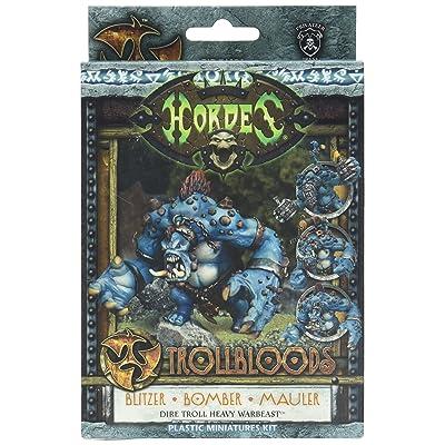 Privateer Press - Hordes - Trollblood: Dire Troll Model Kit: Toys & Games [5Bkhe1203074]