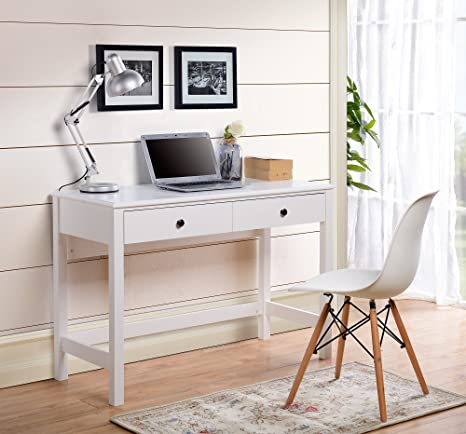 Sensational Amazon Com Homestar Othello Writing Desk With Single Drawer Home Interior And Landscaping Dextoversignezvosmurscom