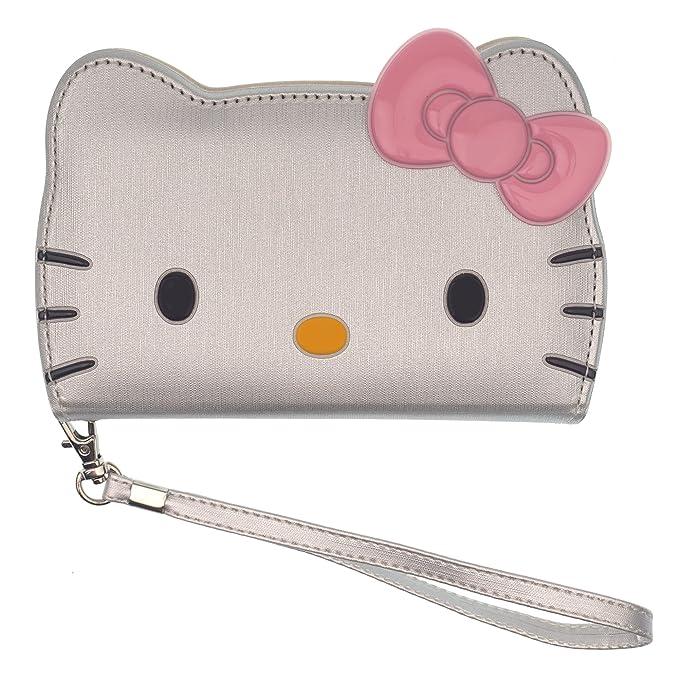 fd49286ea Amazon.com: iPhone X Case Hello Kitty Cute Diary Wallet Flip ...