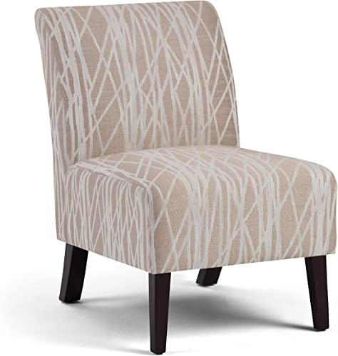 SIMPLIHOME Woodford 22 inch Wide Transitional Accent Chair