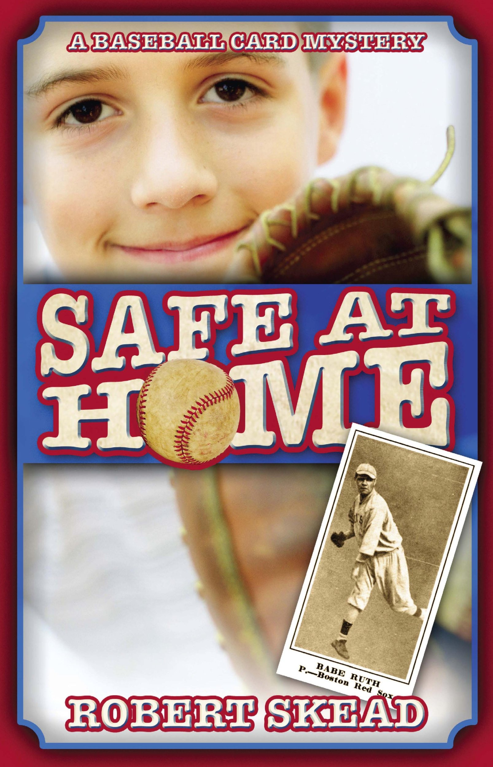 Read Online Safe at Home: A Baseball Card Mystery pdf epub