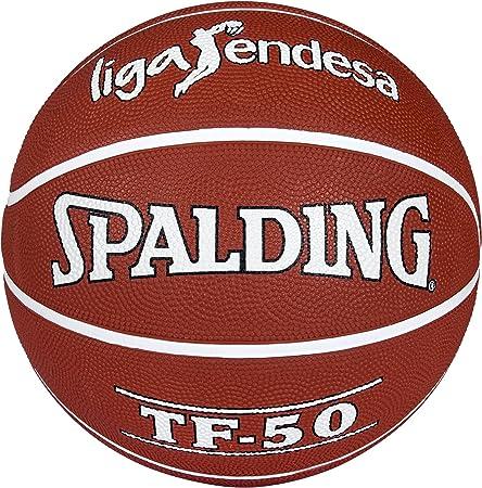 Spalding ACB Tf50 Outdoor Sz.5 73-968Z Balón de Baloncesto, Unisex ...