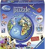 Ravensburger - 12333 - Puzzle 3d - Disney Globe Xxl - 180 Pièces