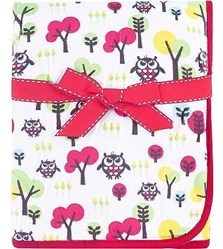 cbc89806a8d Babyono Children's Microfiber Blanket BO0003 (Red/Tree): Amazon.co ...
