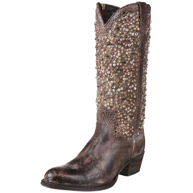 5e11f2fe0dc8 FRYE Women s Deborah Studded Tall Western Boot