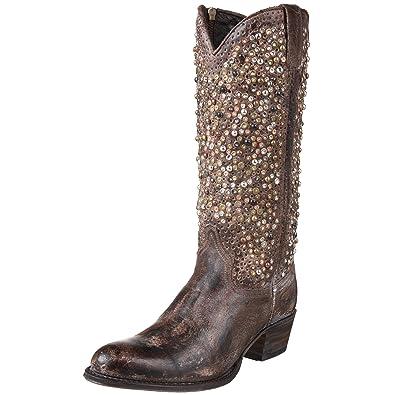 FRYE Cowboy , Bottes femme - Gris-V.3, 37  Amazon.fr  Chaussures et Sacs 449ae69268ce