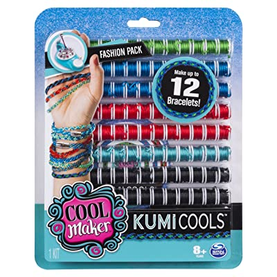 Cool Maker - KumiCools Fashion Pack, Makes Up to 12 Bracelets with the KumiKreator, for Ages 8 and Up: Toys & Games [5Bkhe1402118]