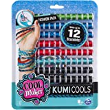 Cool Maker - KumiCools Fashion Pack, Makes Up to 12 Bracelets with The KumiKreator, for Ages 8 and Up
