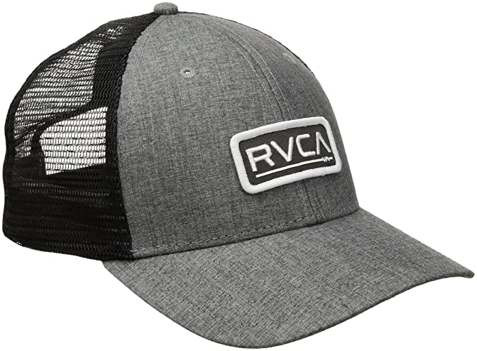 Amazon.com  RVCA Men s Ticket Trucker Hat  Clothing 532966a114b4