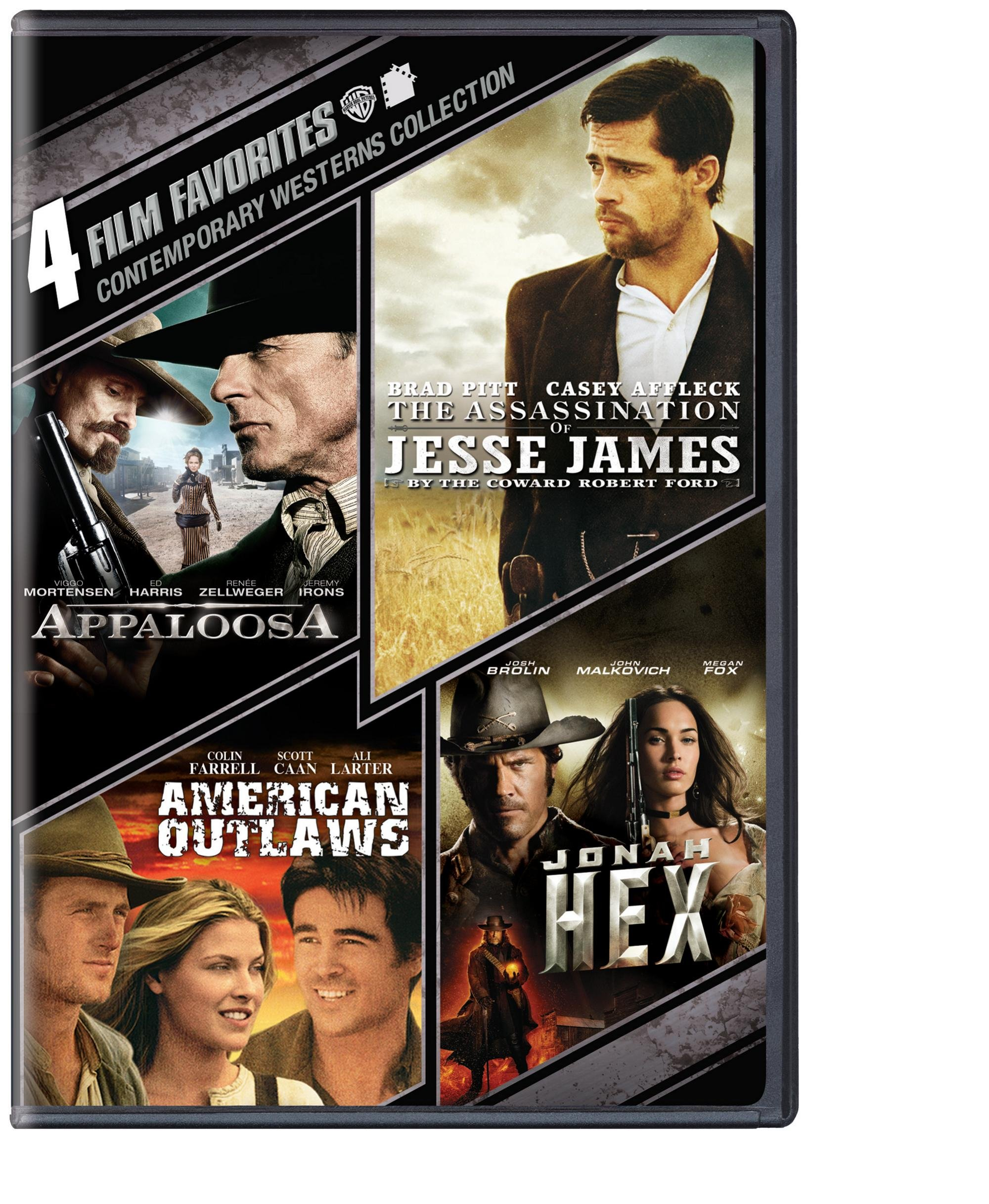 DVD : 4 Film Favorites: Contemporary Westerns (Boxed Set, 4PC)