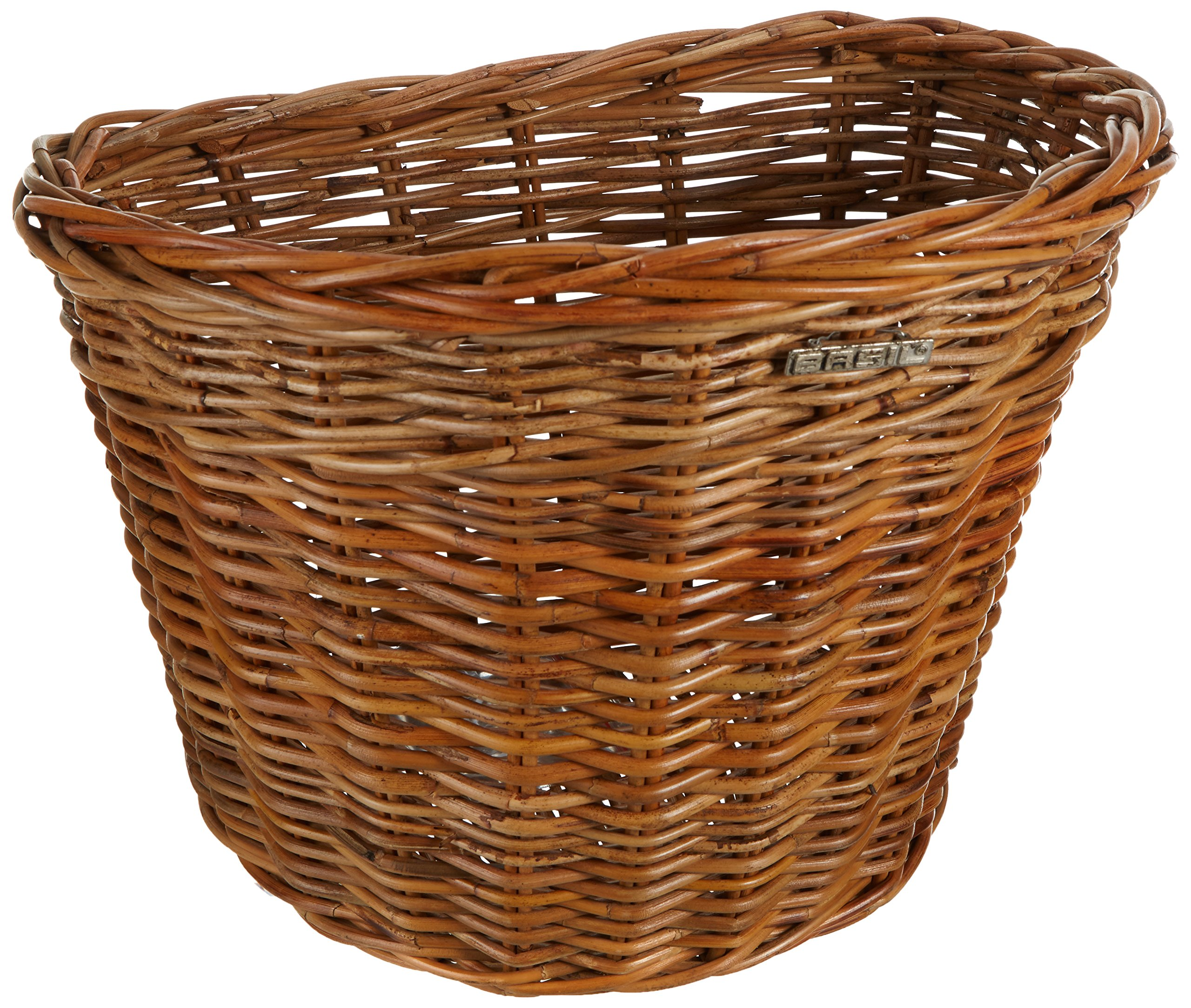 Bell Basil Darcy Bicycle Basket, Varnished Natural