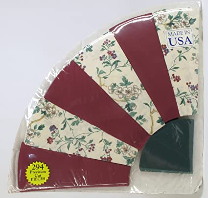 Amazon Fan Pattern Country Patchwork Perfect Quilt Pieces