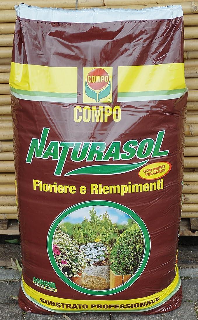 """""""natursol substrat professionnel pour pots et riempimenti en lot de 70litres"""