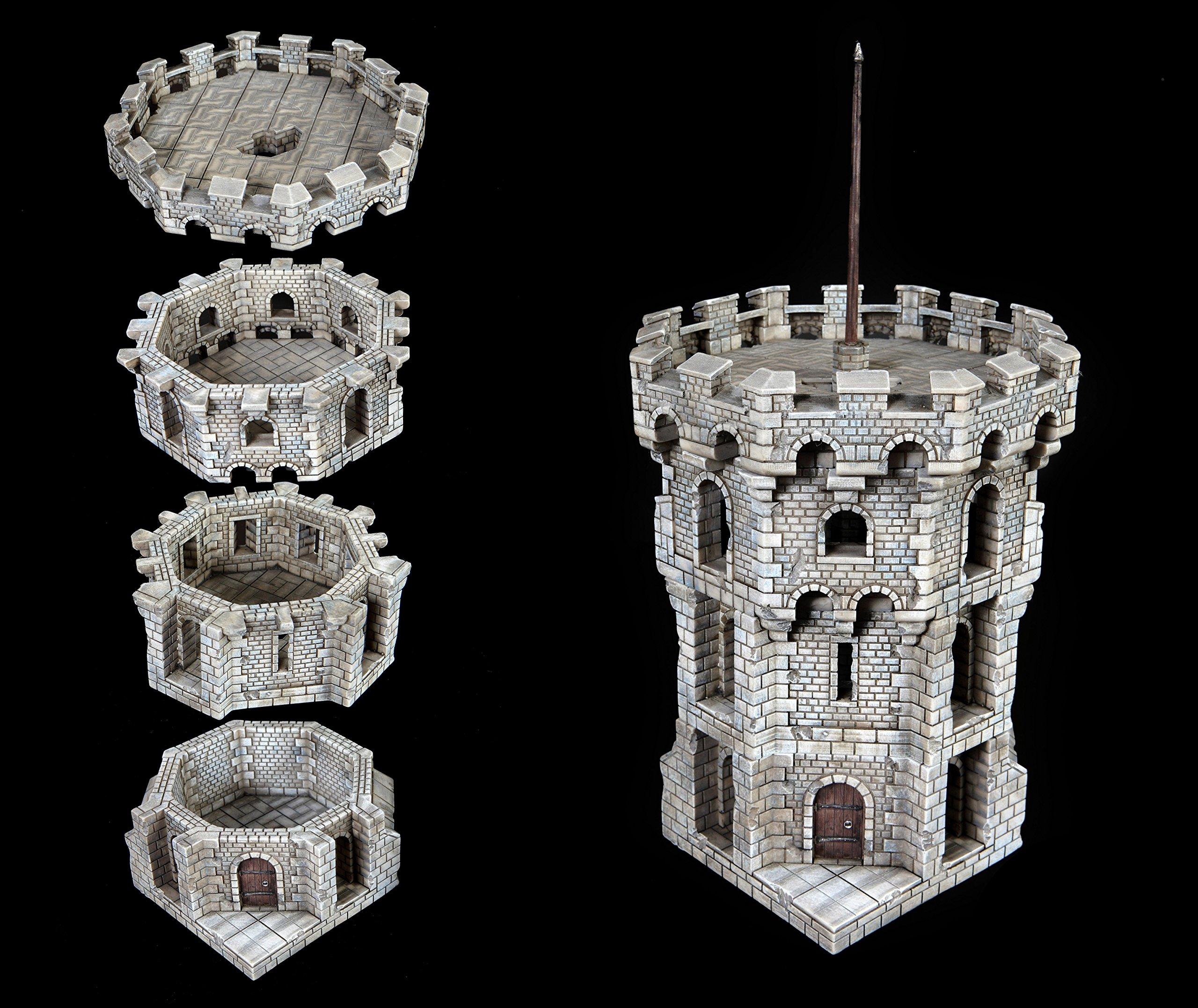 Corner Tower by Epix Haven