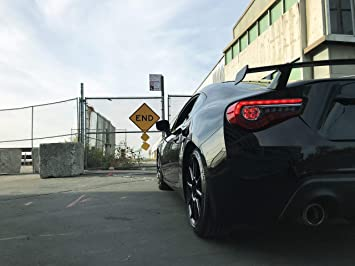 BRZ K1X - Crystal White Pearl Drambeenie Spoiler Risers for 2017 86