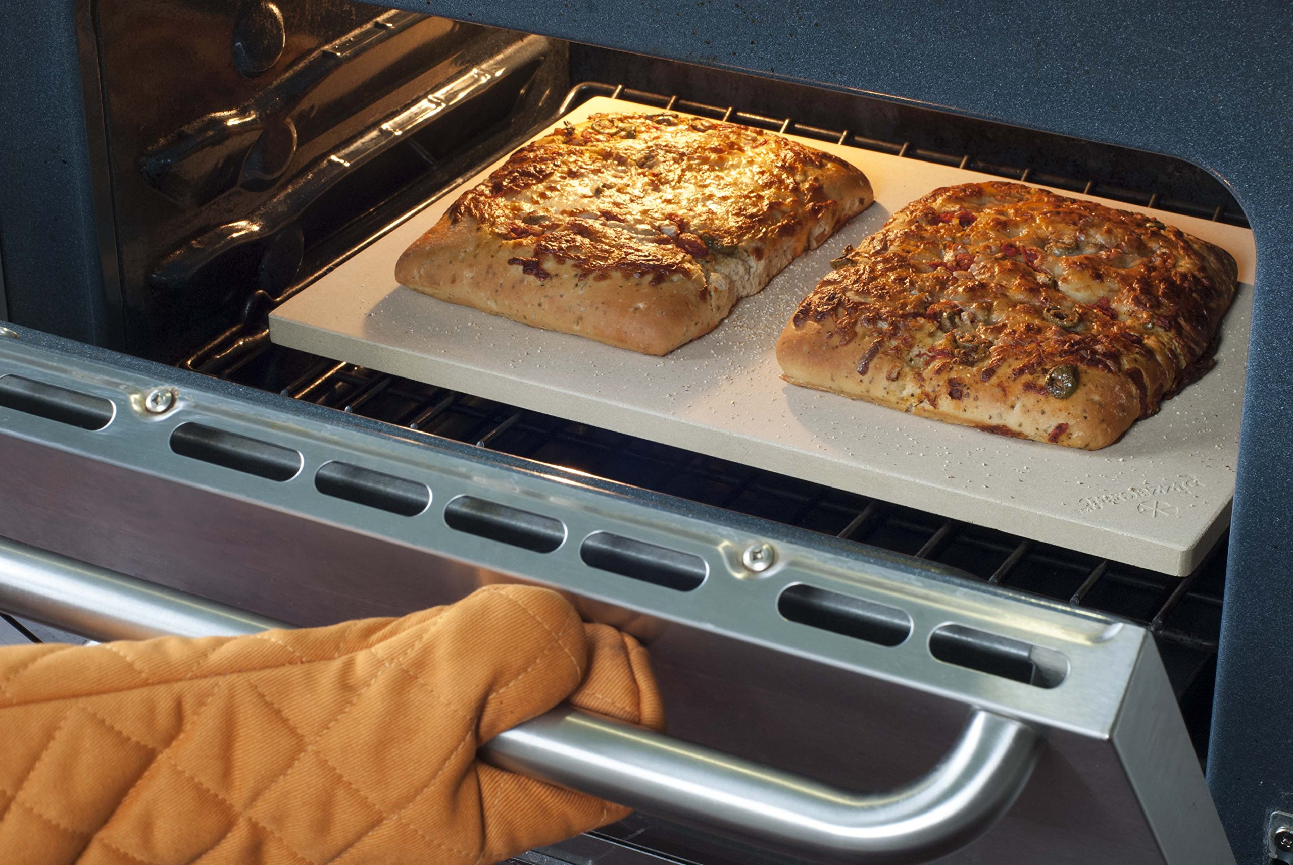 Pizzacraft PC9899 20 x 13.5 Rectangular ThermaBond Baking/Pizza Stone for Oven or Grill by Pizzacraft (Image #5)