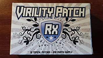 Amazon Com Virility Patch Rx Male Enhancement Formula Health