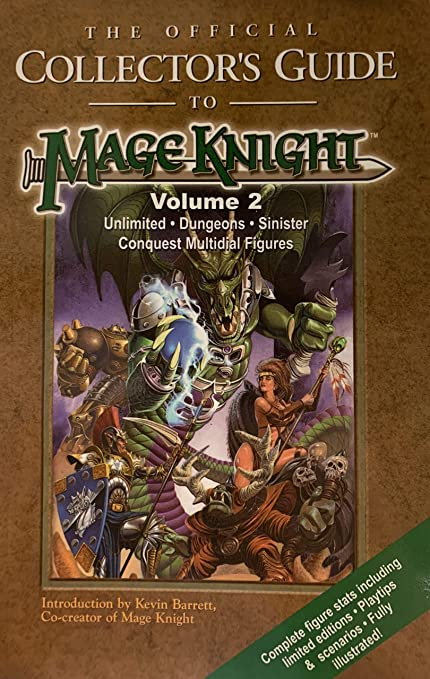 Amazon.com: The Official Collectors Guide To Mage Knight ...