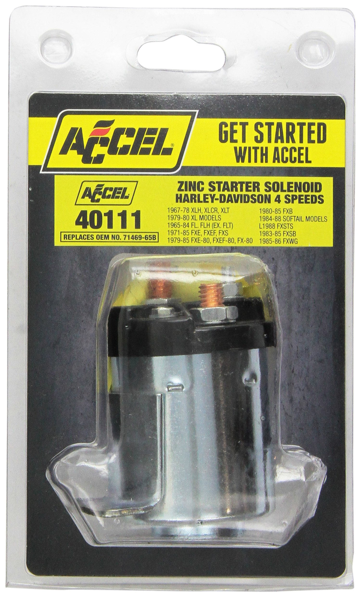 ACCEL Starter Solenoid (ACC 40111) by ACCEL (Image #2)