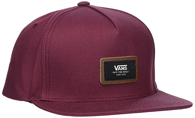 Vans_Apparel Fiske Snapback, Gorra de béisbol para Hombre, Rojo (Port Royale) Talla única: Amazon.es: Ropa y accesorios