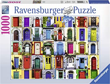 Ravensburger Puzzles Doors, Multi Color (1000 Pieces)