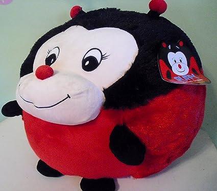 Amazon.com: Gigante Puffy Lady Bug rojo redonda de color ...