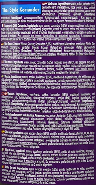 Go-Tan Salsa Wok Thai Coriander - 1000 gr: Amazon.es: Alimentación y bebidas