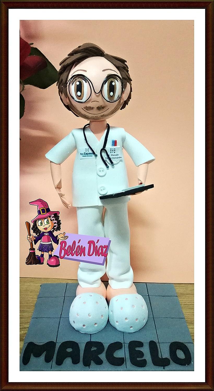 Fofucha muñeco personalizado enfermero o doctor
