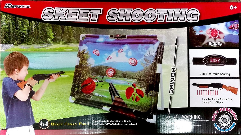 Glow-in-the-Dark Infrared Skeet Shooting Game