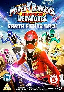 Power Rangers - Super Megaforce Volume 1: Earth Fights Back [Reino Unido]