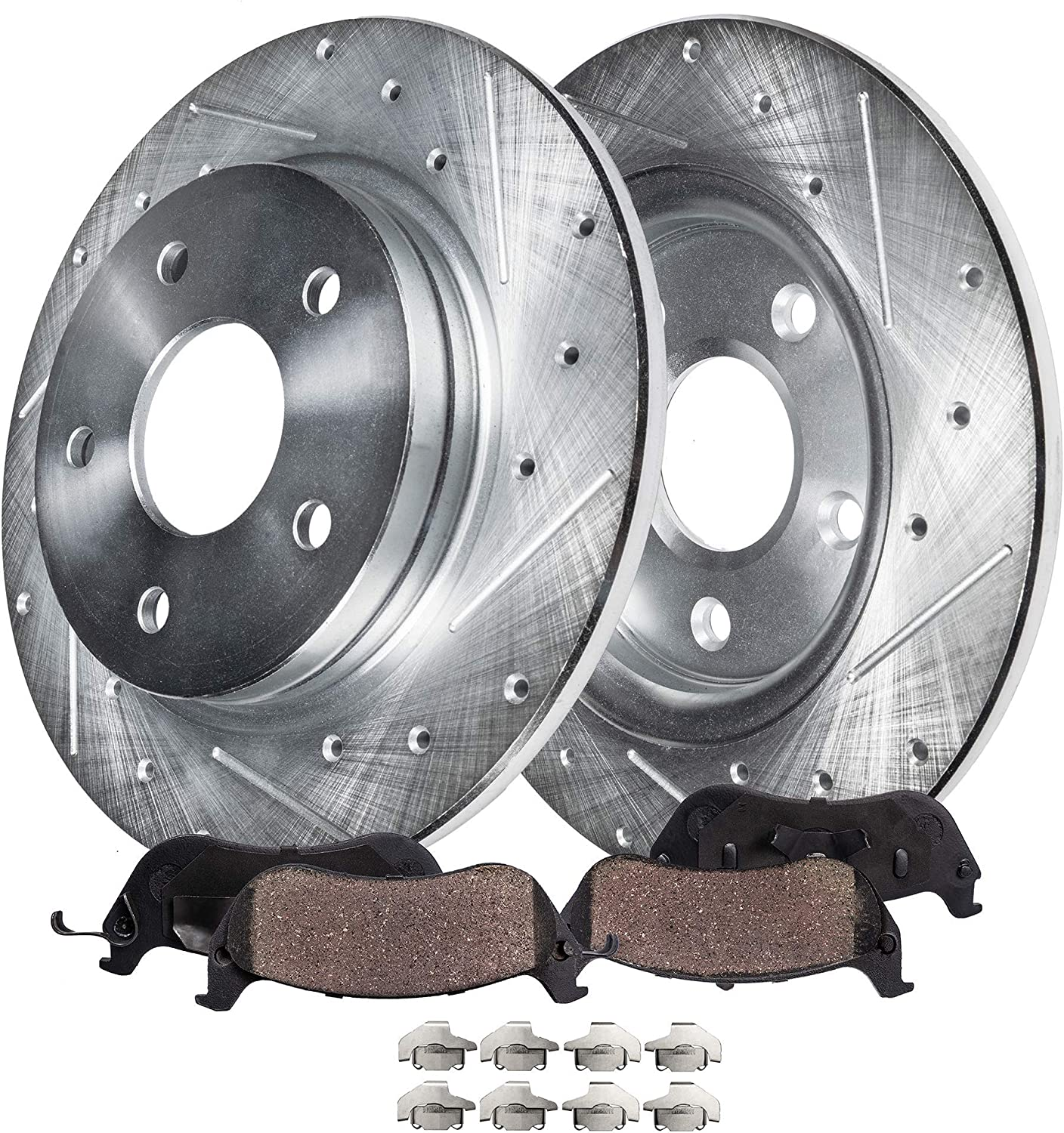 Rotors Ceramic Pads F OE Replacement See Desc. 2012 2013 Ram Cargo Van