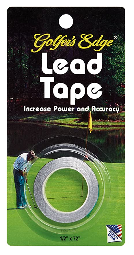 Unique Sports Golf Lead Tape 1/2-inch Wide x 72