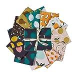 Paintbrush Studio Fabrics - Juego de pinceles (12 unidades, 45,7 cm), multicolor
