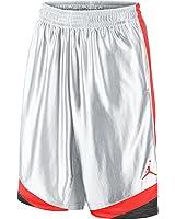 Jordan Court Vision Men's Basketball Shorts White/German Blue/Infrared 576638-104