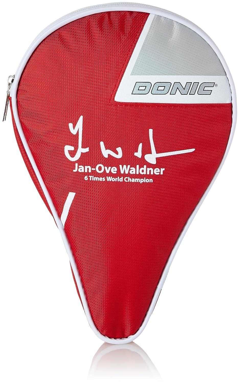 Donic-Schildkröt Waldner 818533 - Funda para Pala de Ping-Pong, Color Rojo y Plateado: Amazon.es: Deportes y aire libre