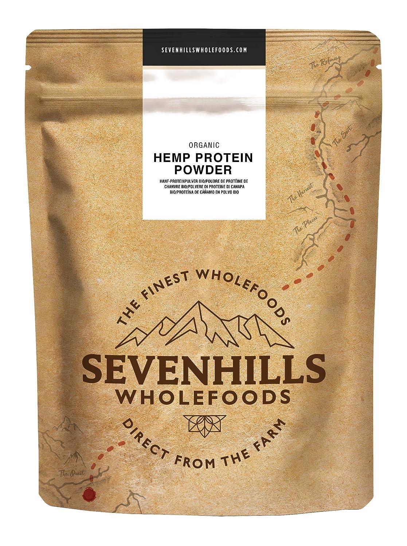 Sevenhills Wholefoods Proteína De Cáñamo Cruda En Polvo Orgánico ...