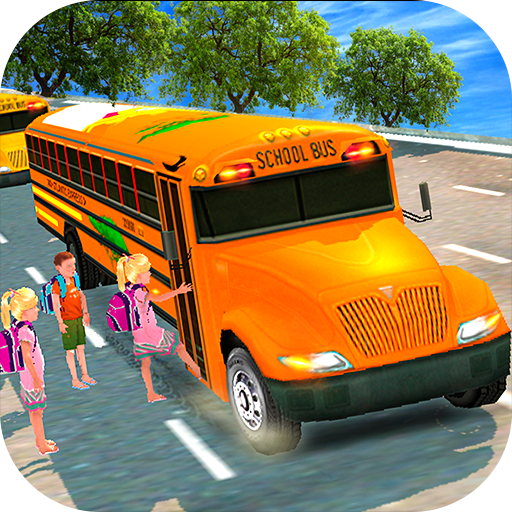 High School Bus Driving 3D (New School Buses)