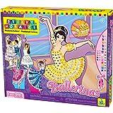 Orb Factory ORB69094 - Loisirs Créatifs - Ballerines - Sticky Mosaiques Autocollantes aux Numéros