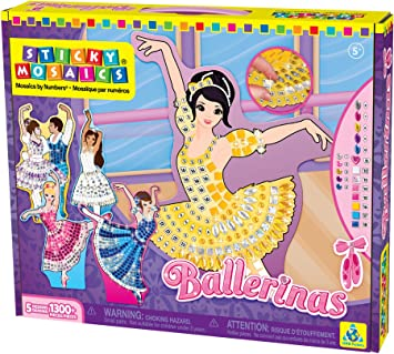 Orb Factory ORB69094 - Loisirs Créatifs - Ballerines - Sticky Mosaiques Autocoll ffwvjq0D