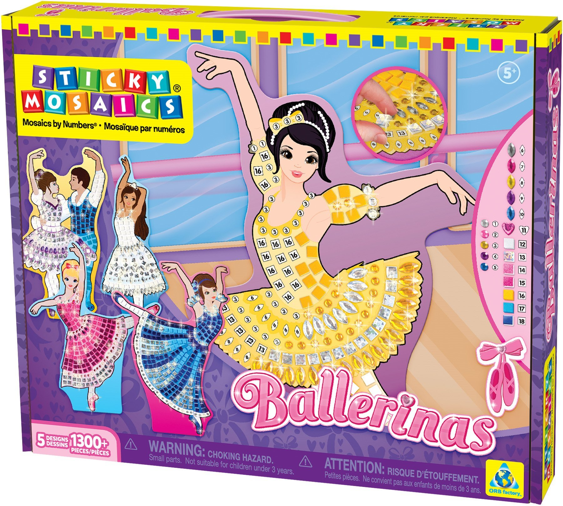 The Orb Factory Sticky Mosaics Ballerinas